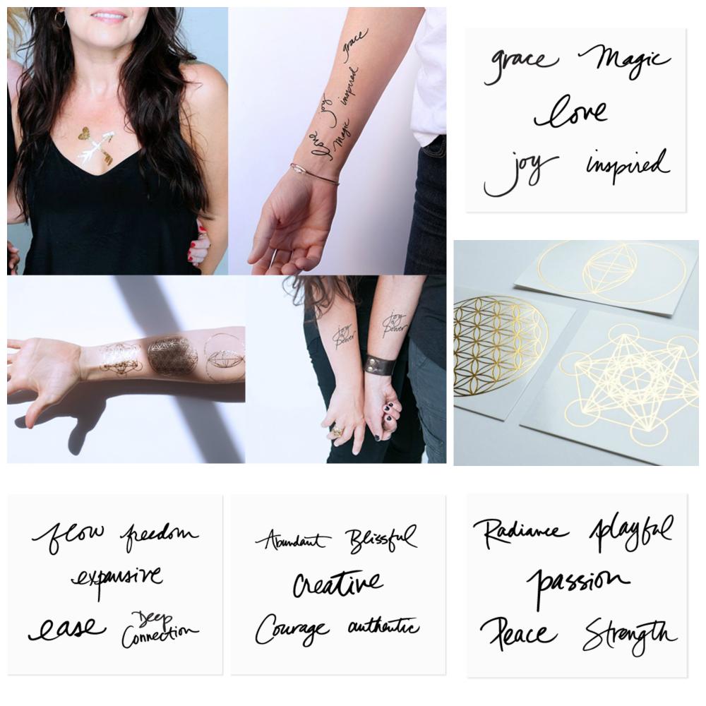 tattoo collection Danielle LaPorte