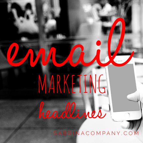 email marketing sabrina&company
