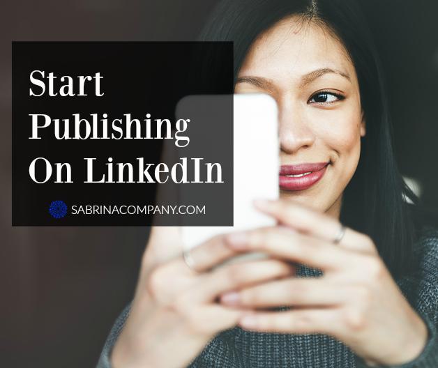 publish on linkedin