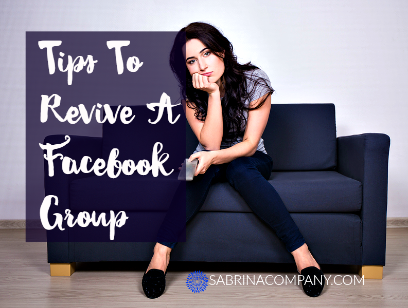 Tips to revive a facebook group