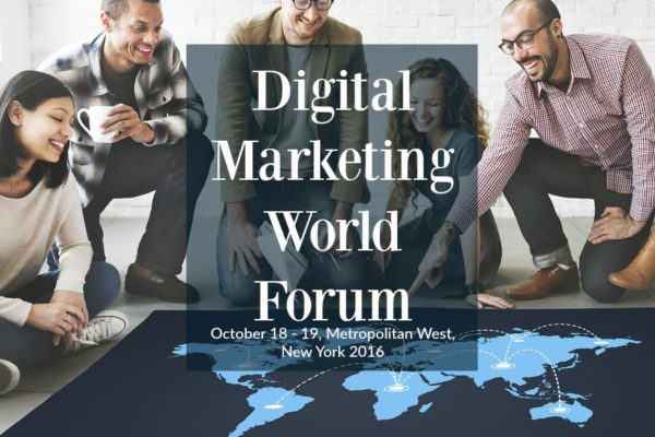 Digital Marketing World Forum October in NYC 2016