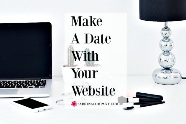 Make A Date With Your Website